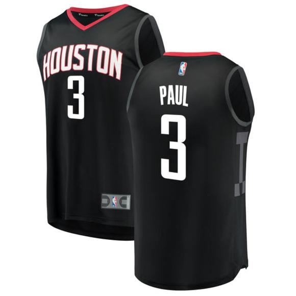 7dd7099f48f4 Men s Houston Rockets Chris Paul Fanatics Jersey L
